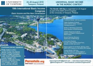"18th BIEN Congress: ""Basic Income and the New Universalism"""