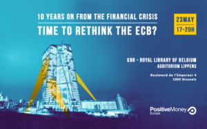 Time to rethink the European Central Bank - Brussels (BE) @ KBR Royal Library of Brussels, auditorum Lippens